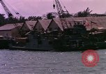 Image of landing craft Da Nang Vietnam, 1966, second 9 stock footage video 65675039907