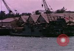 Image of landing craft Da Nang Vietnam, 1966, second 10 stock footage video 65675039907