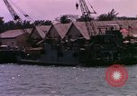 Image of landing craft Da Nang Vietnam, 1966, second 11 stock footage video 65675039907