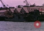 Image of landing craft Da Nang Vietnam, 1966, second 12 stock footage video 65675039907