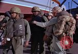 Image of Marines on U.S. transport ship prepare for amphibious landing at Beiru Beirut Lebanon, 1958, second 4 stock footage video 65675039923