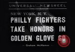 Image of Golden Gloves boxing 1938 New York City USA, 1938, second 1 stock footage video 65675039941