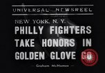 Image of Golden Gloves boxing 1938 New York City USA, 1938, second 2 stock footage video 65675039941