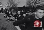 Image of American football New York City USA, 1938, second 9 stock footage video 65675039944