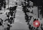 Image of skiing contest Snoqualmie Pass Washington USA, 1938, second 5 stock footage video 65675039945