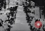 Image of skiing contest Snoqualmie Pass Washington USA, 1938, second 6 stock footage video 65675039945