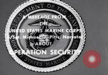 Image of Quantico Marines Operation security Quantico Virginia USA, 1964, second 5 stock footage video 65675039955