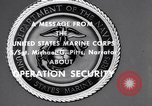 Image of Quantico Marines Operation security Quantico Virginia USA, 1964, second 6 stock footage video 65675039955