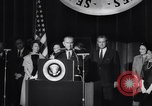 Image of Lindon B Johnson elected President Washington DC USA, 1964, second 3 stock footage video 65675039956
