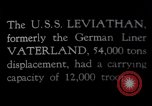 Image of USS Leviathan New York United States USA, 1917, second 1 stock footage video 65675039982