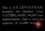 Image of USS Leviathan New York United States USA, 1917, second 3 stock footage video 65675039982