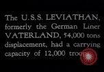 Image of USS Leviathan New York United States USA, 1917, second 4 stock footage video 65675039982