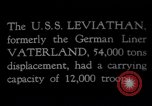 Image of USS Leviathan New York United States USA, 1917, second 5 stock footage video 65675039982