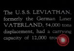 Image of USS Leviathan New York United States USA, 1917, second 6 stock footage video 65675039982