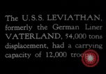 Image of USS Leviathan New York United States USA, 1917, second 8 stock footage video 65675039982