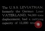 Image of USS Leviathan New York United States USA, 1917, second 9 stock footage video 65675039982