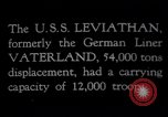 Image of USS Leviathan New York United States USA, 1917, second 12 stock footage video 65675039982