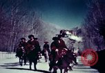 Image of Tibetan cabinet ministers Lhasa Tibet, 1943, second 5 stock footage video 65675039991