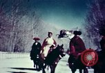 Image of Tibetan cabinet ministers Lhasa Tibet, 1943, second 12 stock footage video 65675039991