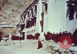 Image of monks Lhasa Tibet, 1943, second 6 stock footage video 65675039993