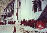Image of monks Lhasa Tibet, 1943, second 7 stock footage video 65675039993