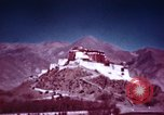 Image of Young Dalai Lama Lhasa Tibet, 1943, second 5 stock footage video 65675039994