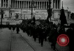 Image of Fascists wreath laying Italy, 1919, second 1 stock footage video 65675040011
