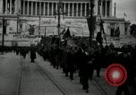 Image of Fascists wreath laying Italy, 1919, second 2 stock footage video 65675040011