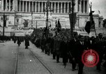 Image of Fascists wreath laying Italy, 1919, second 3 stock footage video 65675040011