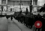 Image of Fascists wreath laying Italy, 1919, second 4 stock footage video 65675040011
