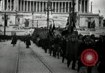 Image of Fascists wreath laying Italy, 1919, second 5 stock footage video 65675040011