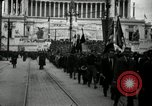Image of Fascists wreath laying Italy, 1919, second 6 stock footage video 65675040011