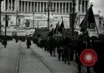 Image of Fascists wreath laying Italy, 1919, second 7 stock footage video 65675040011