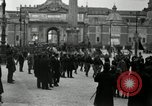 Image of Fascists wreath laying Italy, 1919, second 11 stock footage video 65675040011