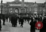 Image of Fascists wreath laying Italy, 1919, second 12 stock footage video 65675040011