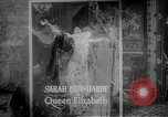 Image of French actress Sarah Bernhardt France, 1912, second 9 stock footage video 65675040021
