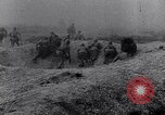 Image of French troops charge from trench World War 1 Western Front European Theater, 1918, second 11 stock footage video 65675040043