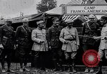 Image of Camp Franco-Americain France, 1917, second 10 stock footage video 65675040045