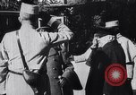 Image of French President Poincare Western Front European Theater, 1915, second 12 stock footage video 65675040049