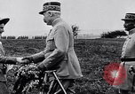 Image of French Marshal Phillipe Petain Western Front European Theater, 1915, second 6 stock footage video 65675040066