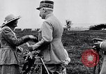 Image of French Marshal Phillipe Petain Western Front European Theater, 1915, second 7 stock footage video 65675040066