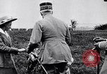 Image of French Marshal Phillipe Petain Western Front European Theater, 1915, second 9 stock footage video 65675040066