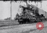 Image of French Railway guns World War 1 Western Front European Theater, 1917, second 1 stock footage video 65675040067