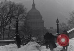 Image of Shoveling and playing in snow Washington DC USA, 1923, second 4 stock footage video 65675040078