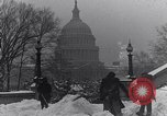 Image of Shoveling and playing in snow Washington DC USA, 1923, second 5 stock footage video 65675040078