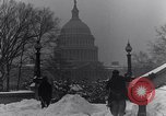 Image of Shoveling and playing in snow Washington DC USA, 1923, second 6 stock footage video 65675040078