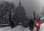 Image of Shoveling and playing in snow Washington DC USA, 1923, second 7 stock footage video 65675040078