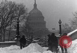 Image of Shoveling and playing in snow Washington DC USA, 1923, second 10 stock footage video 65675040078