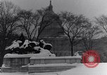 Image of Shoveling and playing in snow Washington DC USA, 1923, second 11 stock footage video 65675040078