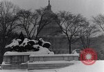 Image of Shoveling and playing in snow Washington DC USA, 1923, second 12 stock footage video 65675040078